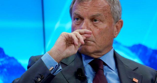 Martin Sorrell, a WPP frissen lemondott vezetője. (Reuters)