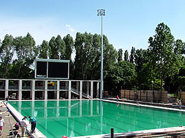 Az Úszó-Eb helyszíne