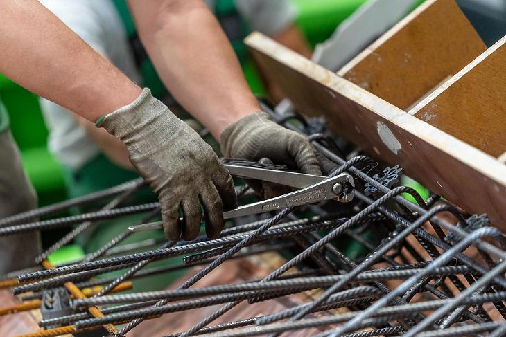 Fontos a jó betonipari szakmunkások megtalálása is (forrás: PREbeton)