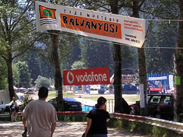 A tábor bejárata