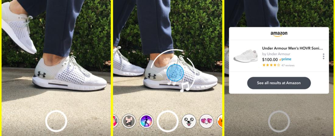 Lefotózod - megveheted. Akcióban a Snapchat és az Amazon új szolgáltatása.