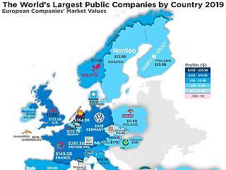 Egy térkép, amiből kiderül, mennyire olajfókuszú Európa