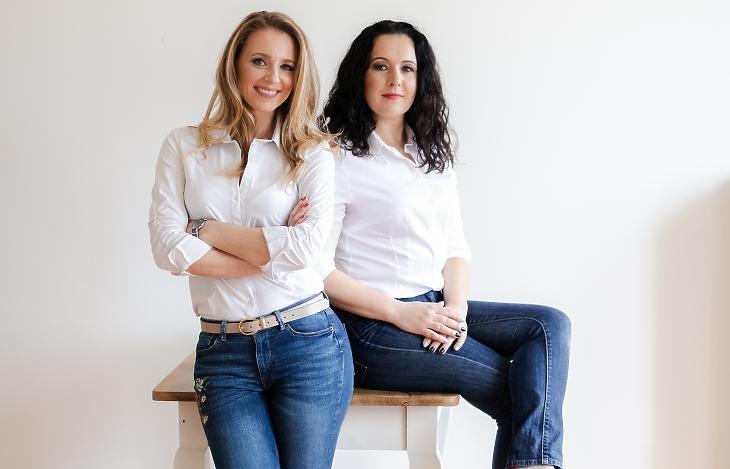 Varga-Kovács Tímea és Losonczi VIktória Fotó: Kondella Misi