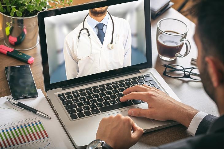 A telemedicina a járvány után is fontos. Fotó: Depositphotos