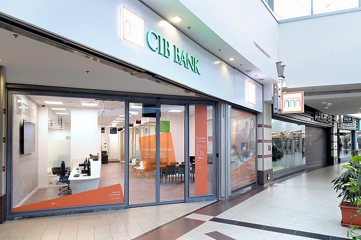 CIB bankfiók a Westendben