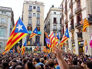 Blokád alatt a barcelonai reptér