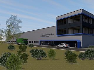 Óriási képzési központot épít Kecskeméten a Mercedes