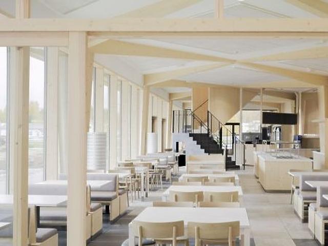 A Niemenharju pihenő étterme