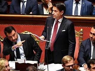 Távozik az olasz miniszterelnök