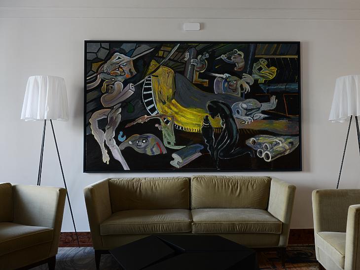 A Kovásznai Szalont díszítő festmény