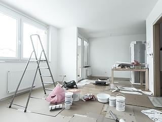 Ha már otthon ragadtunk, felújítunk, korszerűsítünk