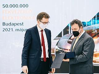 Ötvenmillió fékvezérlő elektronika Budapestről