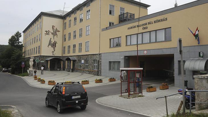 Az ózdi Almási Balogh Pál Kórház is nullszaldóval kezdte az újévet. Fotó: mti