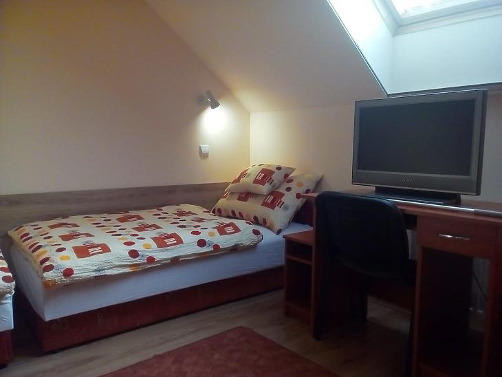 A Pötyi Szálló egyik szobája (Fotó: potyiszallo.com)