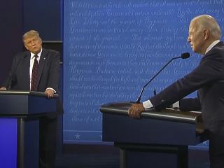 Joe Biden fordított Wisconsinban