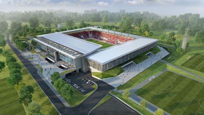 Ilyennek kell lennie kész állapotban az új stadionnak