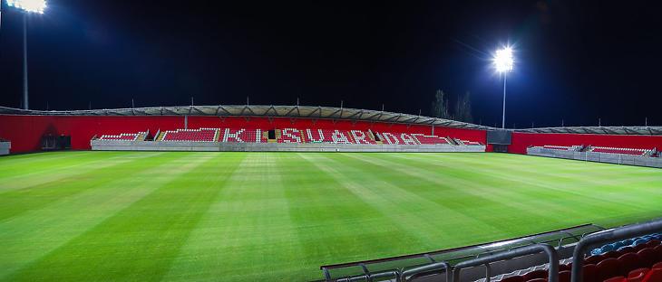 A kisvárdai stadion (Fotó: kisvardafc.hu)