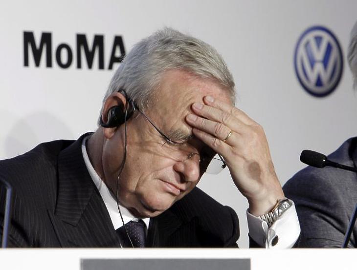 Martin Winterkorn, a Volkswagen csoport vezérigazgatója (MTI/AP/Richard Drew).