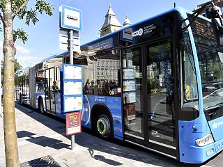 Ezeregyszáz elektromos busz állhat forgalomba 2025-ig