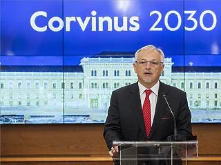 Hernádi Zsolt a Corvinust működtető alapítvány elnöke