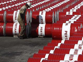 Négyéves csúcsát karcolta a Brent olaj ára