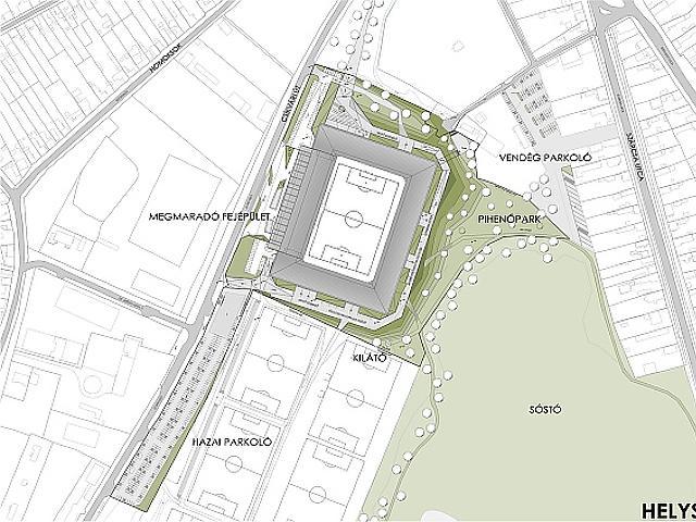 Ilyen lesz a Vidi új, 9 milliárdos stadionja!