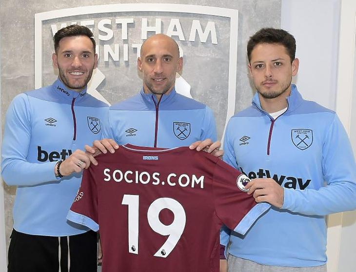 Kérészéletű volt a West Ham csapatával kötött megállapodás (Forrás: Socios)