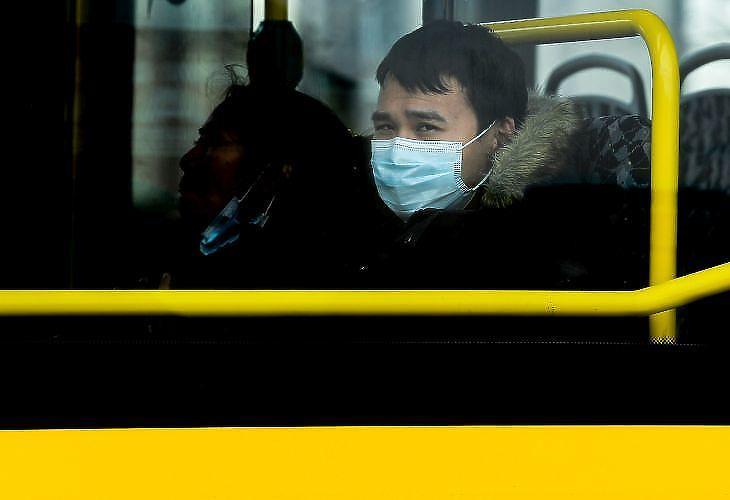 Berlinben is szigorúan ellenőrzik a maszkhasználatot (forrás: EPA)