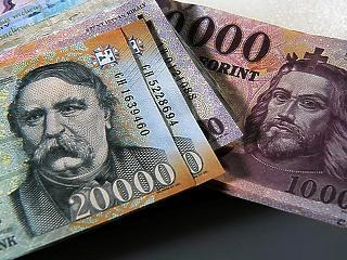 Új csúcs: 6 ezermilliárd forint fölé ment a forgalomban lévő készpénz