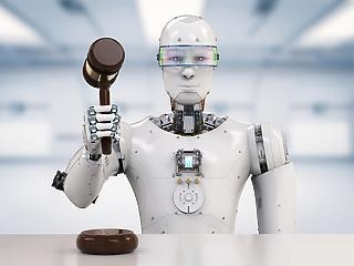 A jogászok, ügyvédek, bírók munkáját is elveszi a mesterséges intelligencia