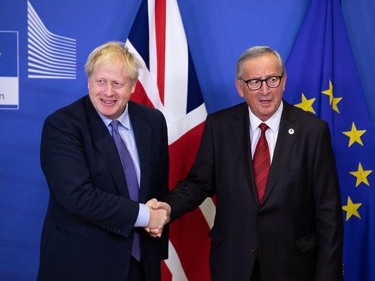 Boris Johnson és Jean-Claude Juncker. (Forrás: Európai Bizottság)