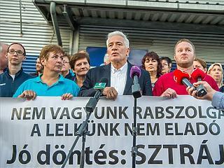 Négyből egy Tescóban okozott gondot a sztrájk