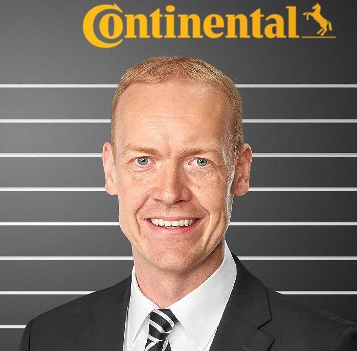 Mirco Brodthage, a Continental délkelet-európai gumiabroncs kereskedelmi üzletágának új vezetője (Forrás: Continental)