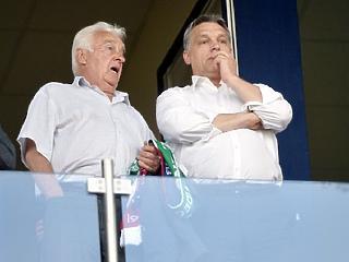 1,35 milliárdot lapátolt ki Orbán apja a cégeiből