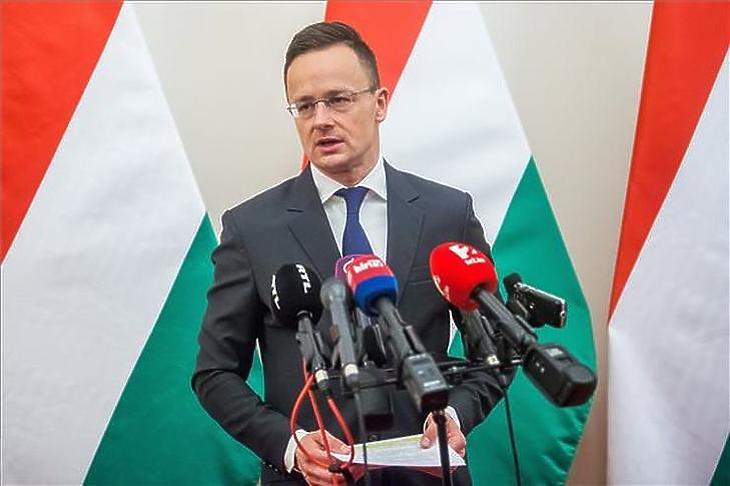 Szijjártó Péter külgazdasági és külügyminiszter (MTI Fotó - Balogh Zoltán)