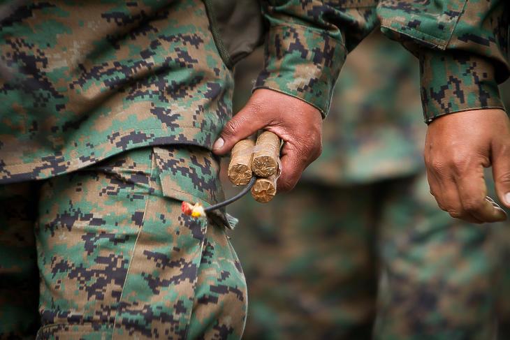 Nagy mennyiségű robbanóanyagra szól a honvédség közbeszerzése. Fotó: Depositphotos