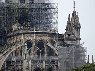 50 százalék csak az esély, hogy megmenthető a Notre-Dame