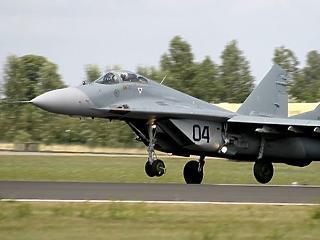 Most sem keltek el a légierő MiG-29-esei
