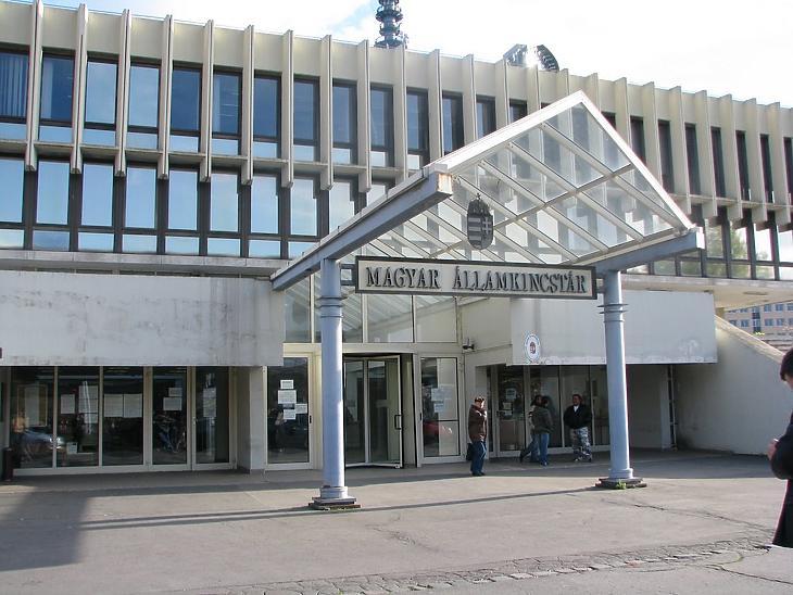 Az államkincstár épülete