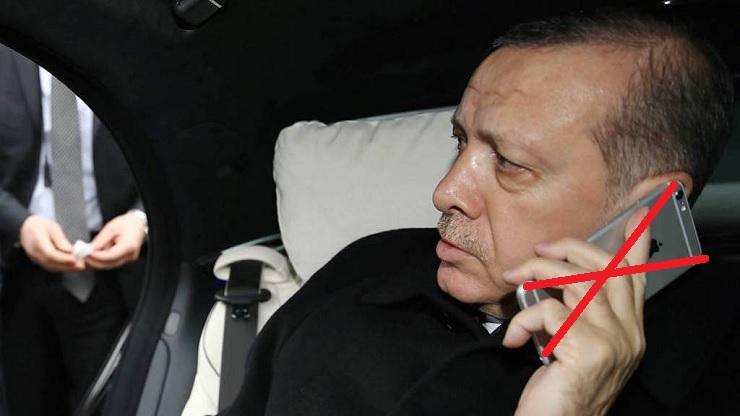 Erdogan bojkottálná az iPhone-t...