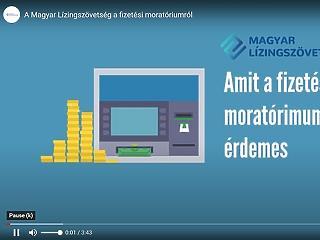Videóban amit a fizetési moratóriumról tudni kell
