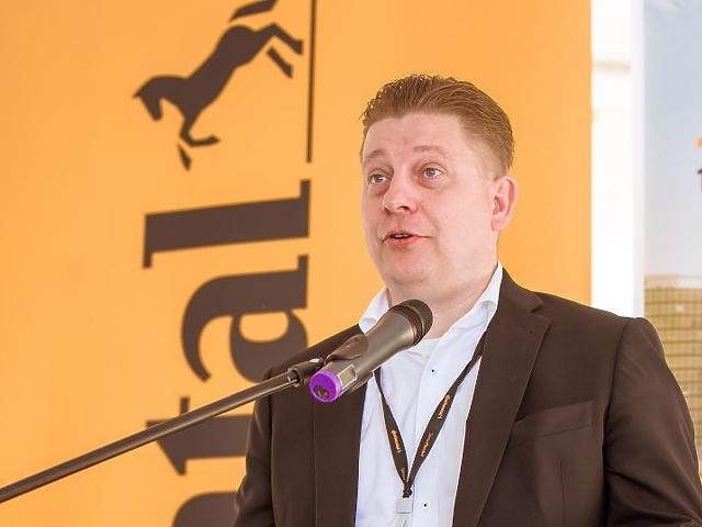 Pápai Tamás, a vállalat vezetője