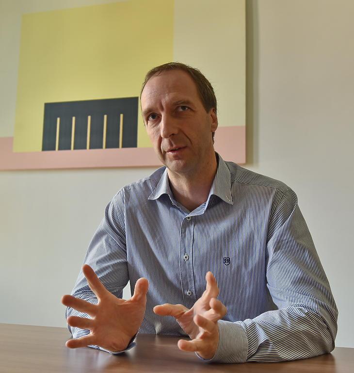 Oszkó Péter. Fotó: Bánkuti András.