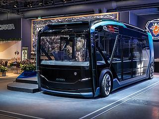 Önvezető busz/kisteherautó/kukáskocsi a Scania új dobása