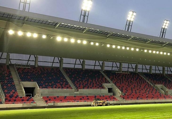 A Fehérvár stadionja (Fotó: MTI)