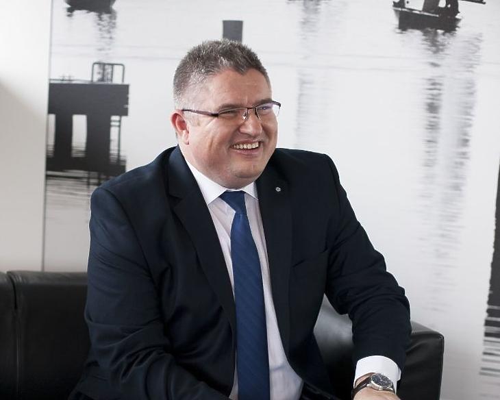 Vida József a TV2 egyik tulajdonosa elégedett lehet az eredményekkel (archív fotó)