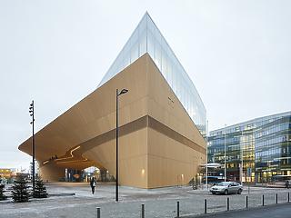 Kőbe zárt zene - így néz ki az új városi könyvtár Helsinkiben