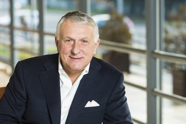 Bige László, a Bige Holding Csoport tulajdonosa (MTI Fotó: Balázs Attila)