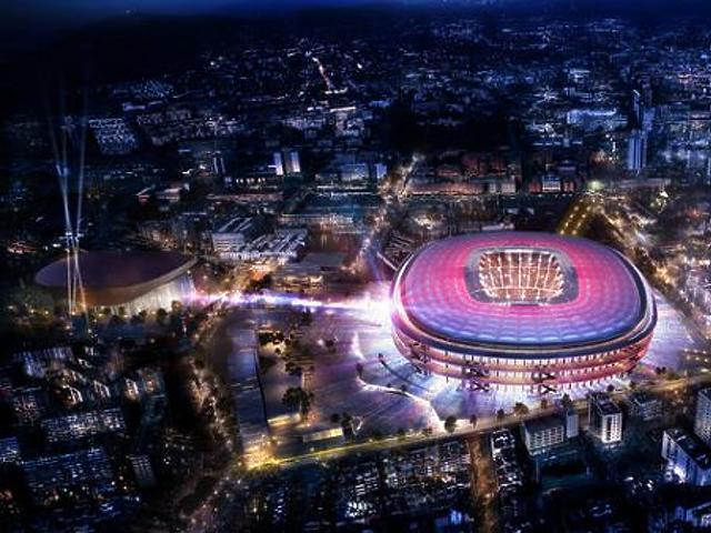 Így újul meg a Barcelona stadionja