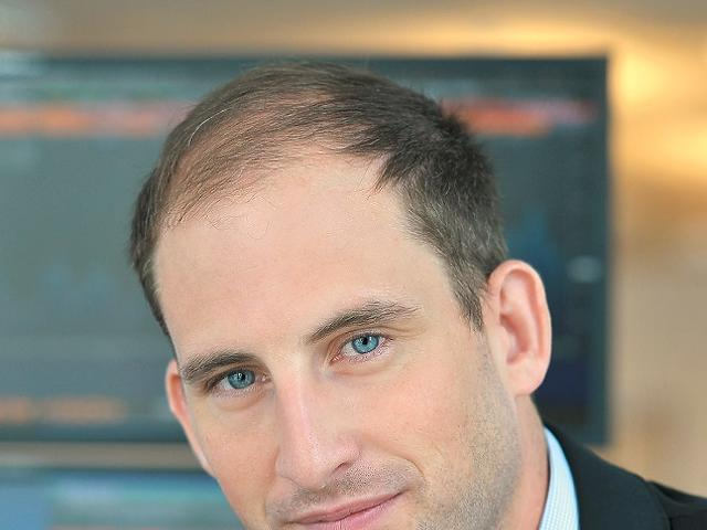 Németh Dávid, a K&H  vezető elemzője